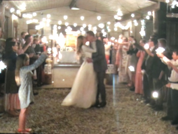 dance hall wedding